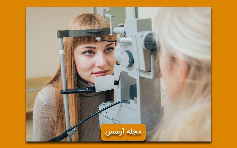 انجام تست بینایی سنجی سالیانه برای جلوگیری از چروک دور چشم