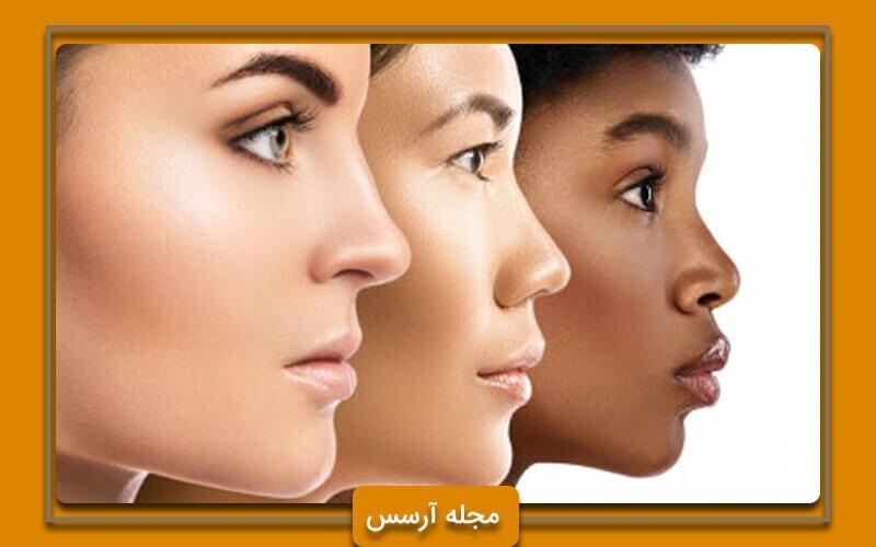 استفاده از هایلایتر برای رنگ پوست های مختلف